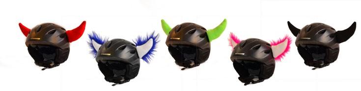 Skihelm Hörner für deinen Helm