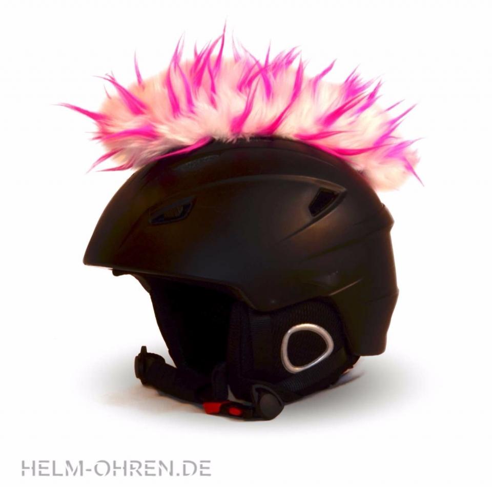 Irokese Weiss-Pink