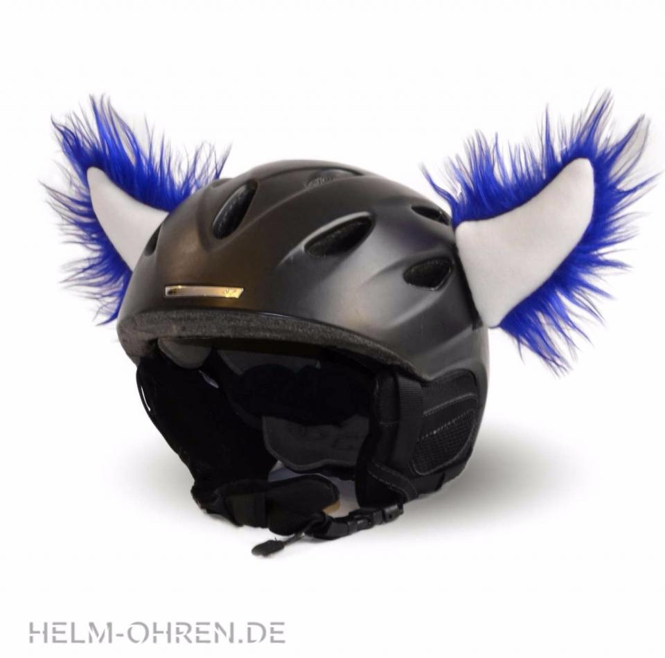 Ohren für Skihelm - Hoerner Blau-Weiss