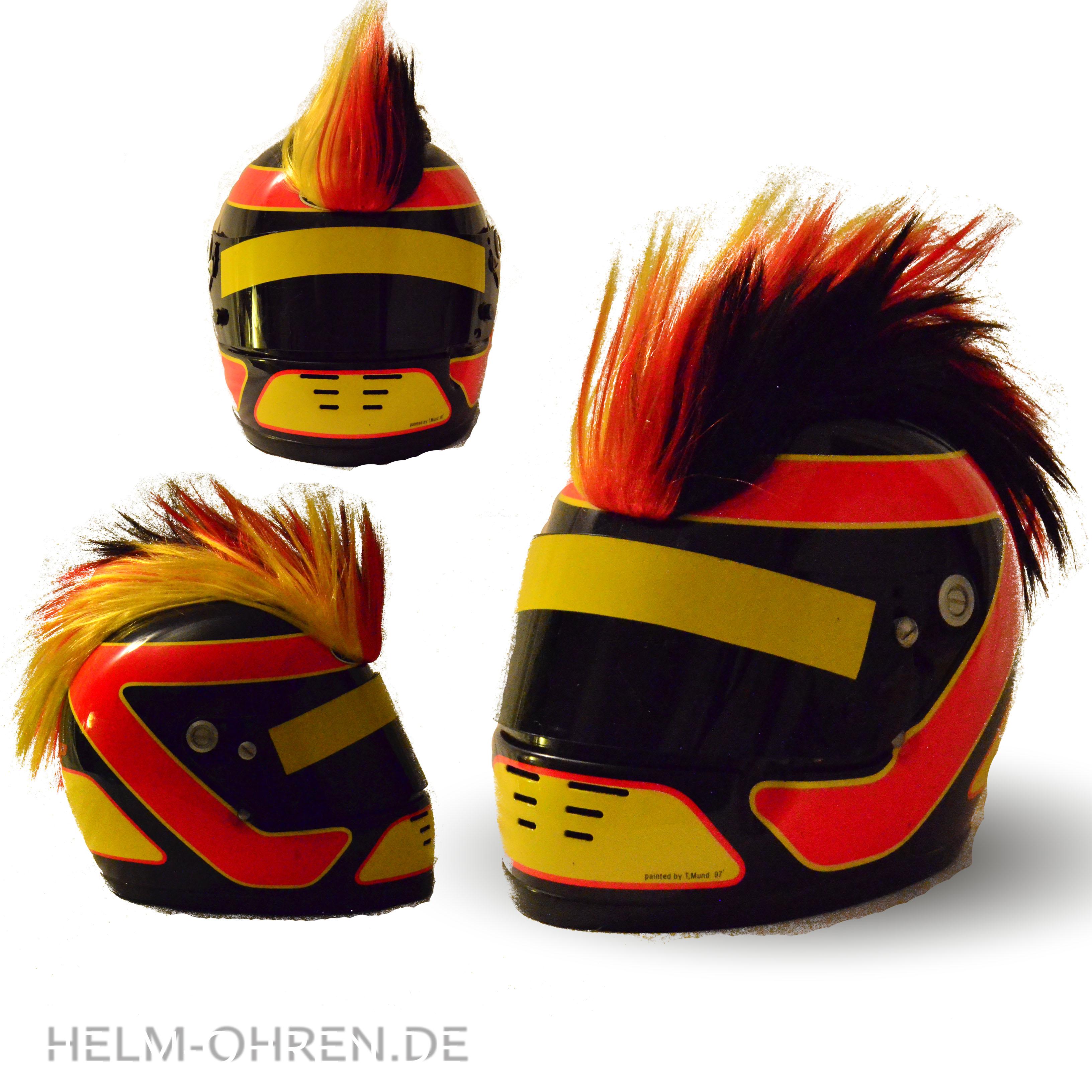 Motorradhelm-Irokese-Deutschland123