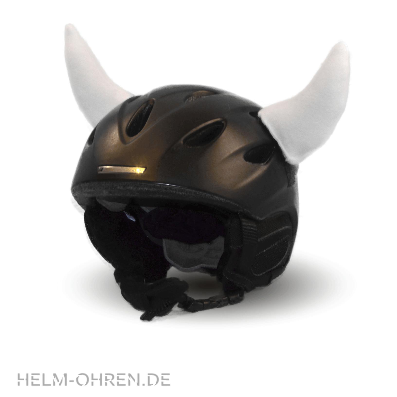 Helm// Skihelm// Snowboardhelm Farbauswahl Helmhörner //Hörner// Hörnchen Aufsatz f